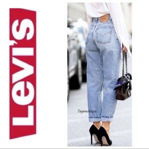 Levi's 521 Vintage High Rise Mom Jeans